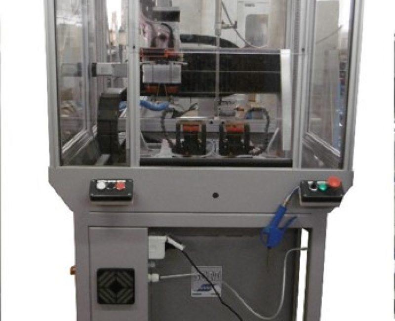 Macchina a controllo numerico a 3 assi per fresatura/foratura aste acetato