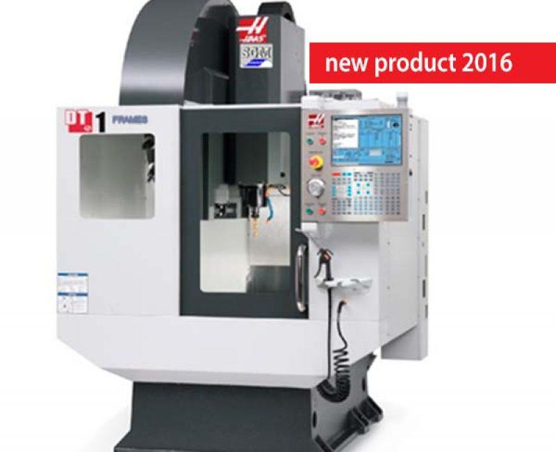 Centro di fresatura a 5 assi Haas con applicazione SGM  per taglio frontali in plastica